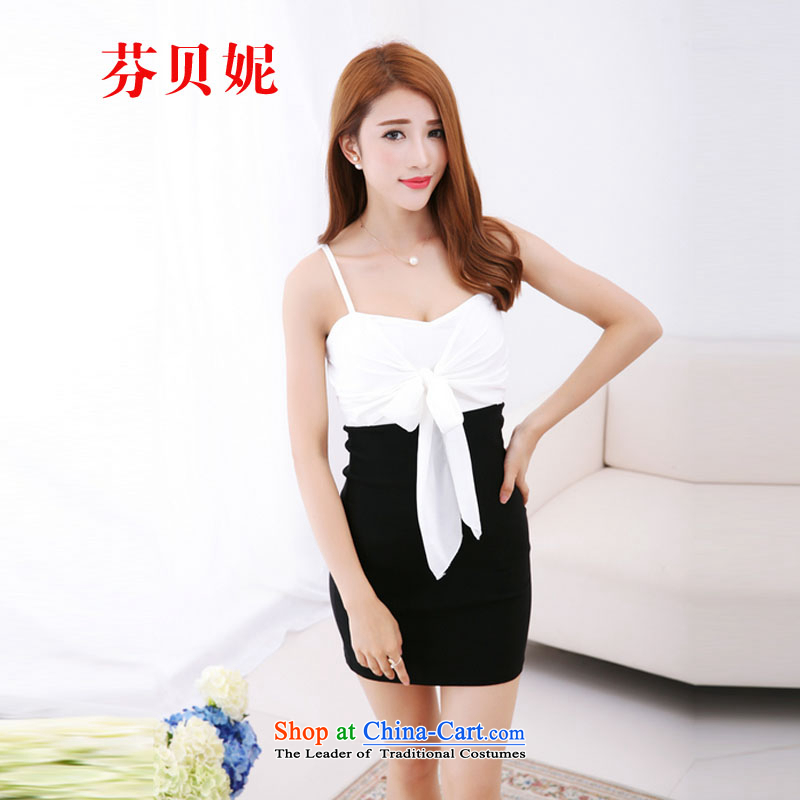 Leung Pui Connie 2015 sexy nightclubs multiple through law also attached a Bow Tie dress evening dress?code are black L9832