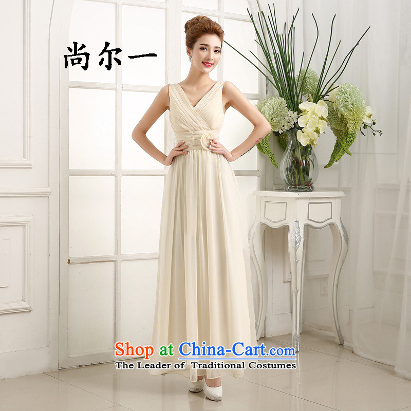 Naoji a bridesmaid Services Mr Ronald new bridesmaid mission dress bridesmaid skirts and sisters evening dresses long dresses long skirt bridesmaid dress 6414 champagne color are code