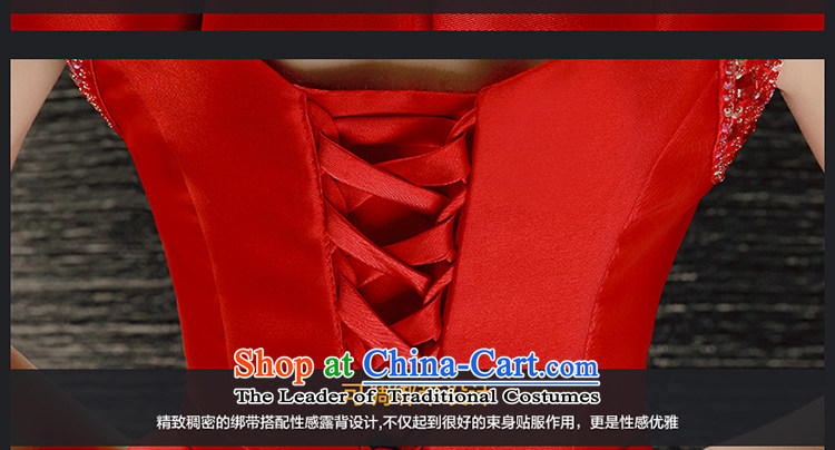 The Holy her wedding dresses Summer 2015 new bride Wedding Dress Short of shoulders red dress uniform dress bows REDM picture, prices, brand platters! The elections are supplied in the national character of distribution, so action, buy now enjoy more preferential! As soon as possible.