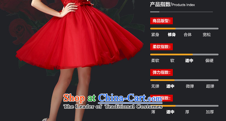 The Holy her wedding dress bride evening dresses 2015 Spring/Summer new red short of married women wedding lace bridesmaid Services Services Red S pictures transmitted, prices, brand platters! The elections are supplied in the national character of distribution, so action, buy now enjoy more preferential! As soon as possible.