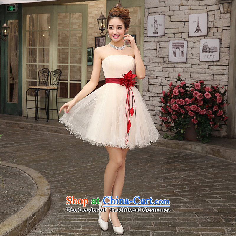 Each of the chest and Connie short champagne color bridesmaid services show short skirts moderator short of evening dress small short skirts bridesmaid sister skirt champagne color tailored does not allow