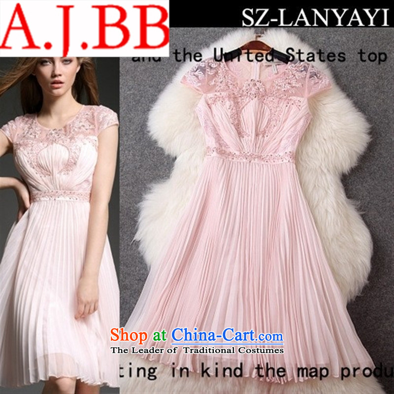 Vpro spring and summer 2015 stores only new western style heavy industry like Susy Nagle Pearl set under the Sau San dress skirt the usual zongzi T2881 Color?2