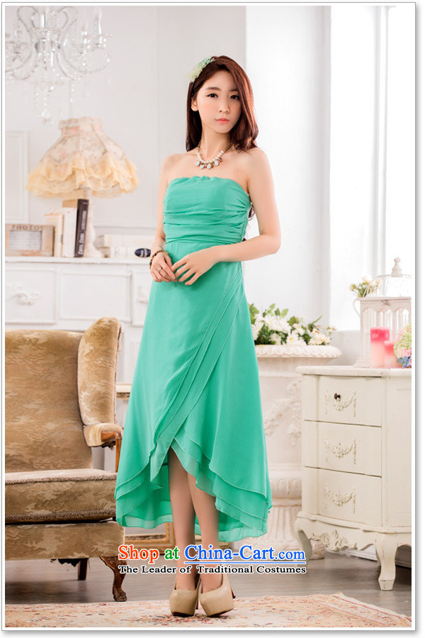 Hiv has a bright and elegant Qi Chest Foutune of Princess skirt omelet before large chiffon dress dresses聽T9833A-1聽PURPLE聽XXXL picture, prices, brand platters! The elections are supplied in the national character of distribution, so action, buy now enjoy more preferential! As soon as possible.