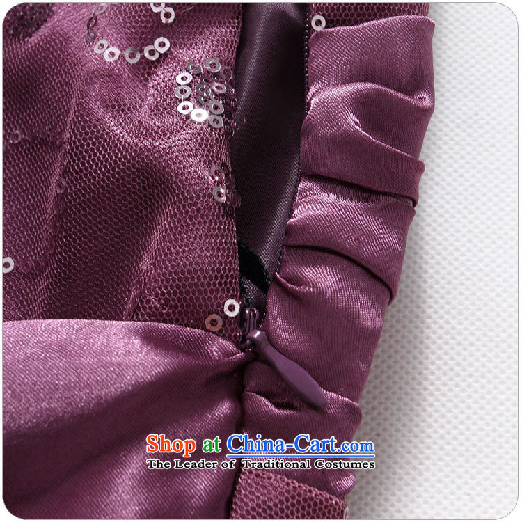 Hiv has chaired qi evening performances on the evening dress is a Bow Tie Straps聽T9838A-1 dress聽purple聽XXXL small pictures, prices, brand platters! The elections are supplied in the national character of distribution, so action, buy now enjoy more preferential! As soon as possible.