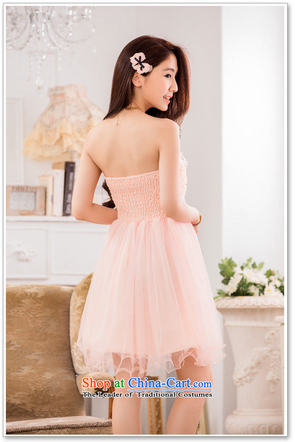 Hiv has been qi sweet lei mesh yarn sister skirt show small dress bow tie larger evening dressesT9733A-1pinkXXL picture, prices, brand platters! The elections are supplied in the national character of distribution, so action, buy now enjoy more preferential! As soon as possible.