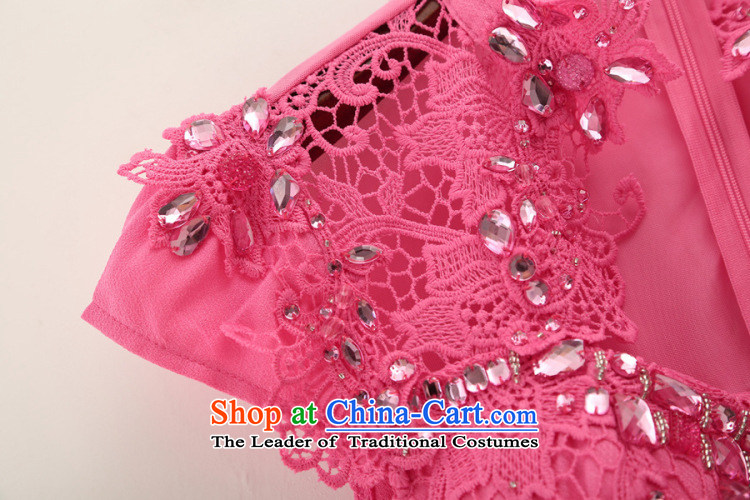 Admissibility Lin bridal dresses bridesmaid dress summer 2015, summer new women's luxury diamond studs pearl lace dresses evening dresses in RED M PHOTO 509, prices, brand platters! The elections are supplied in the national character of distribution, so action, buy now enjoy more preferential! As soon as possible.