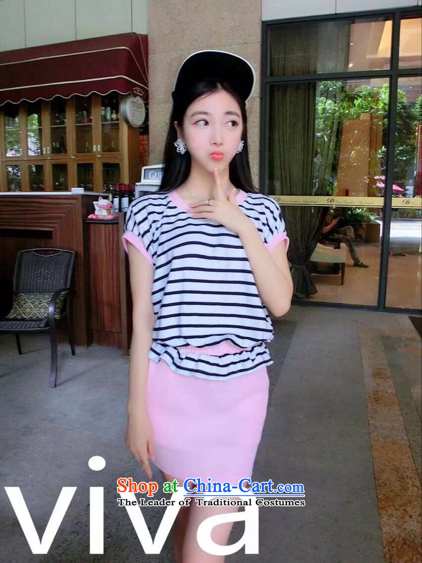 2015 new summer fashionable spell-stripe kit is simple and stylish skirt package and dress code are white picture 6 795 candidates applied, prices, brand platters! The elections are supplied in the national character of distribution, so action, buy now enjoy more preferential! As soon as possible.