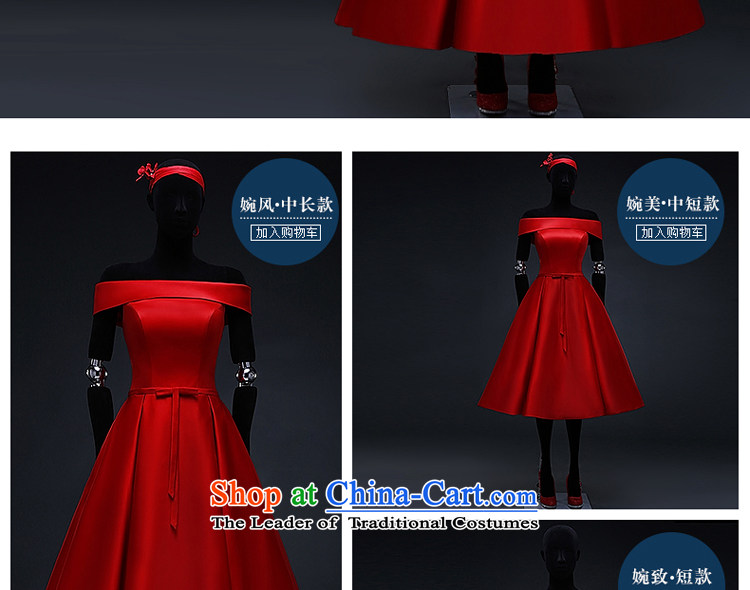 Hillo XILUOSHA) Lisa (red satin wedding dress 2015 Spring bridal dresses bon bon skirt bows in marriage long chinese redL picture, prices, brand platters! The elections are supplied in the national character of distribution, so action, buy now enjoy more preferential! As soon as possible.