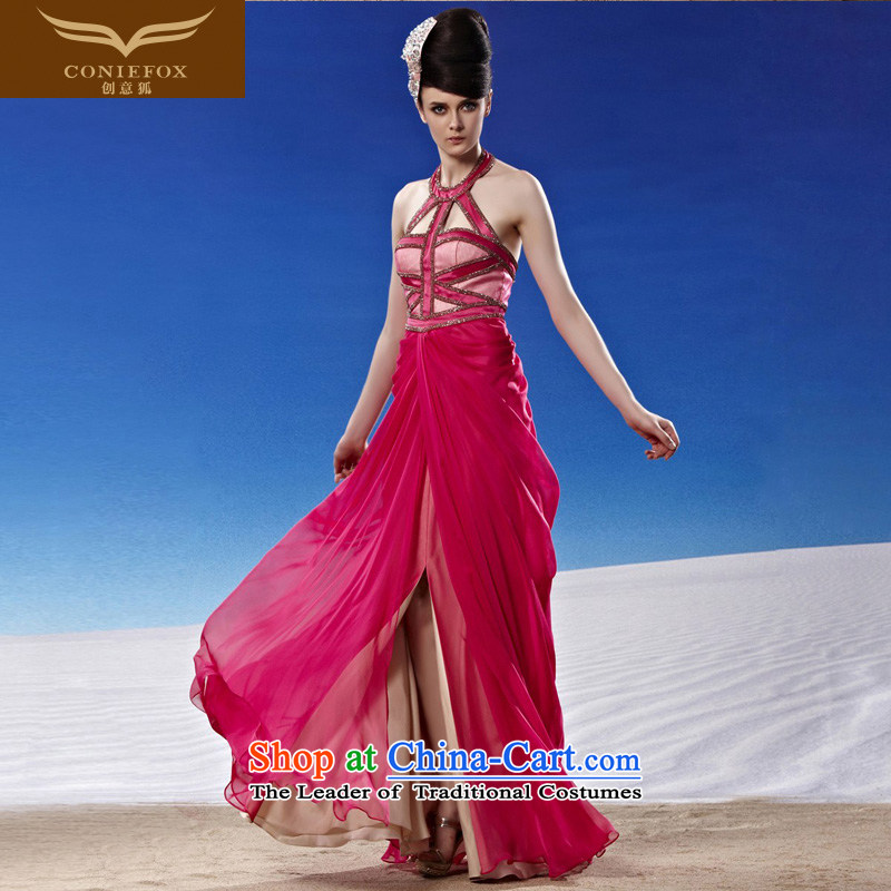 Creative Fox evening dresses� 2015 new red bride wedding dress western dress elegant long-long skirt 81085 also dress photo color�S