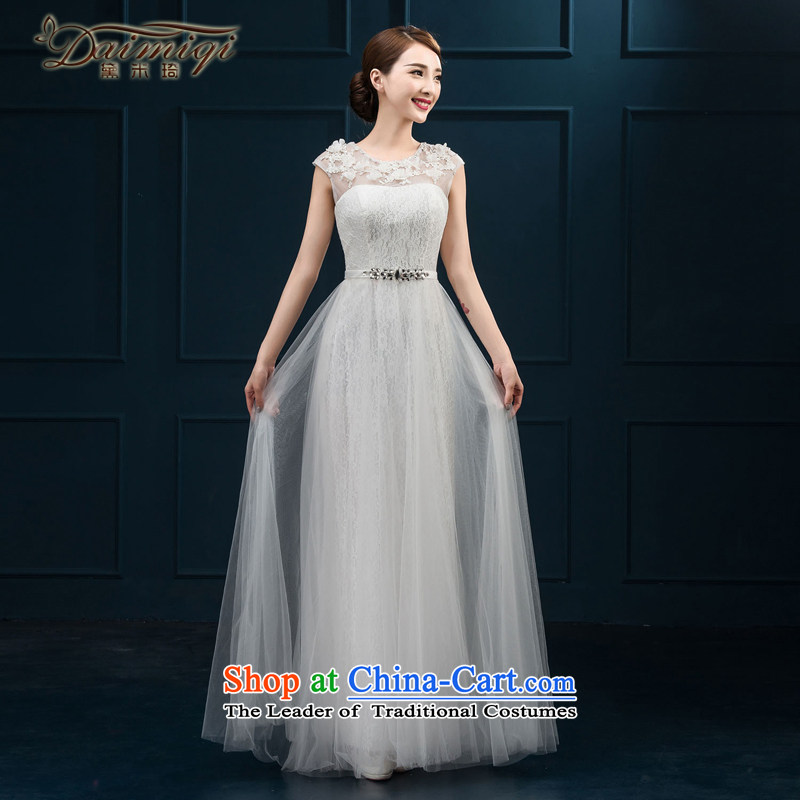 Banquet dinner dress 2015 new bride bows Services Mr Ronald moderator dress a shoulder evening dresses field long female picture color�S