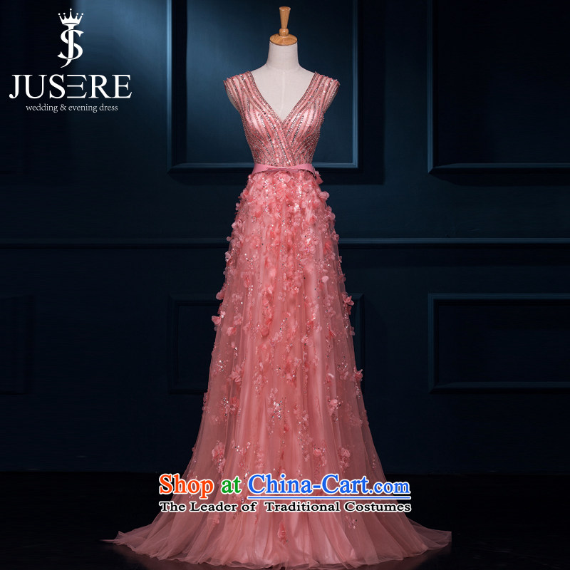 There is a long dresses Hua Jia 2015 new evening dresses marriages wedding dress uniform bows bridesmaid services rose?4 code