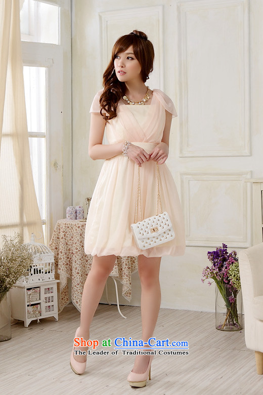 2015 Fashion Sau San shade Jk2.yy shoulder bridesmaid skirt thick sister larger bridesmaid short of dress pure color blue skirtXXL recommendations about 140 pictures, prices, brand platters! The elections are supplied in the national character of distribution, so action, buy now enjoy more preferential! As soon as possible.