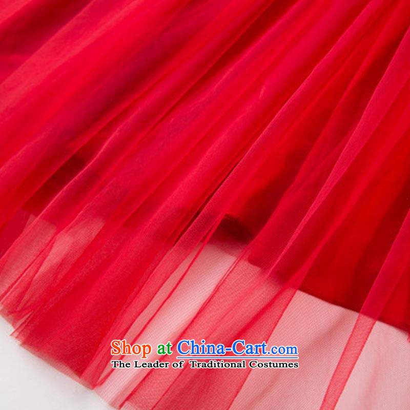 The estimated 7072# NZ large red embroidered dress 2015 Antique Lace red petticoat bride 9 m large long skirt dressyour estimated XXL, red button has been pressed on-line shopping