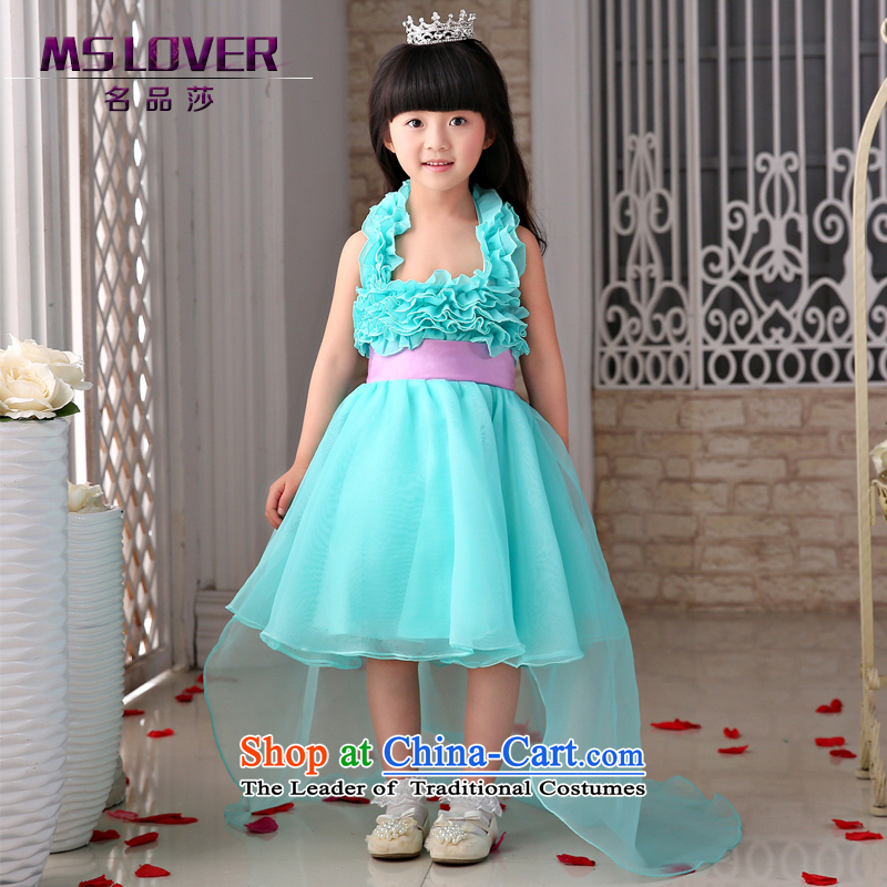 The new 2015 mslover flower girl children dance performances to dress dress wedding dress?TZ150501 12 Code
