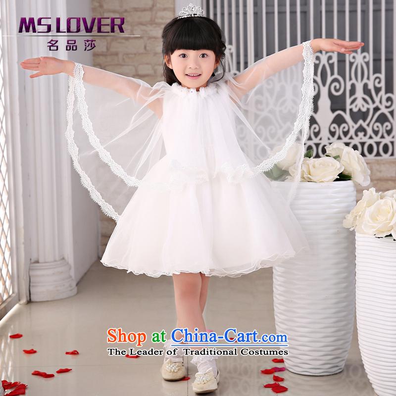 The new 2015 mslover flower girl children dance performances to dress dress wedding dress? TZ1405025?ivory?8