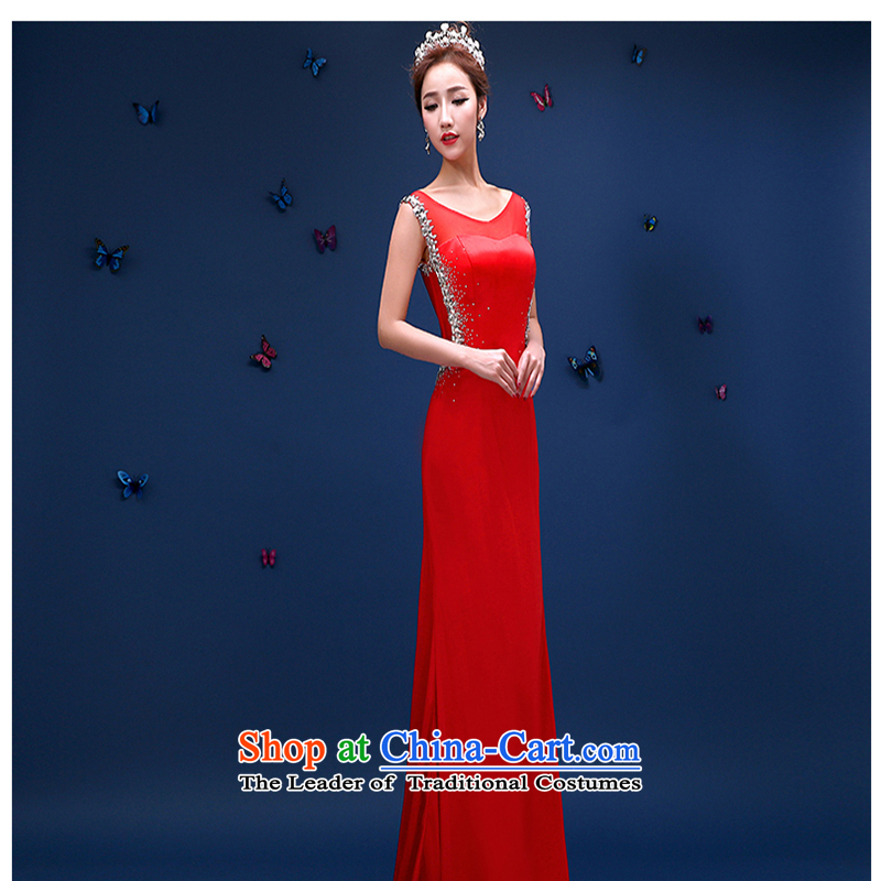 The first white into about聽spring and summer 2015 new marriages wedding dresses bows service long tail crowsfoot Sau San video dress thin red tailored contact customer service