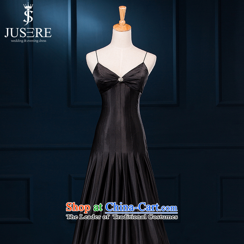 There is a wedding dresses�2015 new summer evening dress short) bows bridesmaid evening dress spring shoulders small multi-color optional black P20 M
