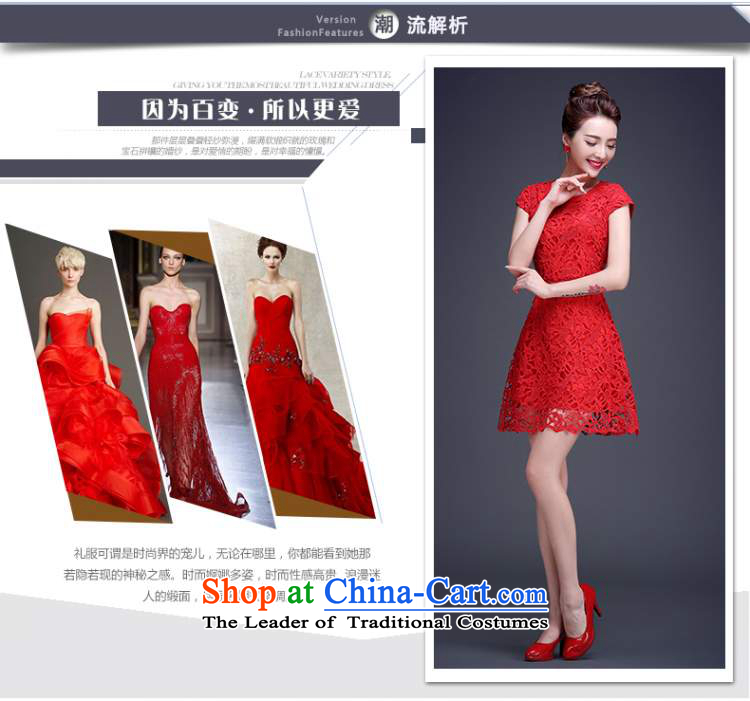 Beverly Ting bows Service Bridal Summer 2015 new red lace wedding dress short of the betrothal small dress dresses Sau San Red XL Photo, prices, brand platters! The elections are supplied in the national character of distribution, so action, buy now enjoy more preferential! As soon as possible.