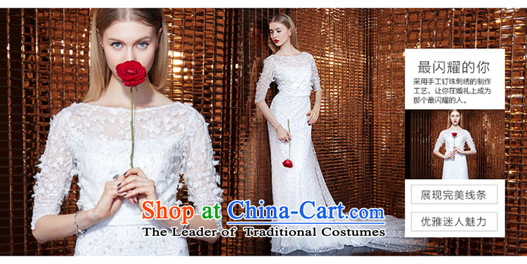 Yi Ge lire aristocratic temperament heavy industry in embroidery cuff round-neck collar snowflake woven stereo flowers dresses banquet dress skirt evening dress white 61054 M picture, prices, brand platters! The elections are supplied in the national character of distribution, so action, buy now enjoy more preferential! As soon as possible.