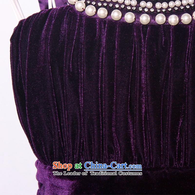 Flying about Europe GOSSIP.D Fall/Winter Collections temperament video thin small dress skirt banquet velvet Princess Evening Dress Short) 1149 BlackL,GOSSIP.D,,, shopping on the Internet