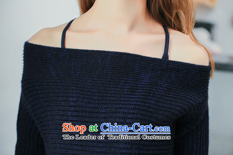 The autumn 2015 domain is a new field shoulder straps sweater bon bon skirt two kits dress kit dresses 3932 dark blue L picture, prices, brand platters! The elections are supplied in the national character of distribution, so action, buy now enjoy more preferential! As soon as possible.