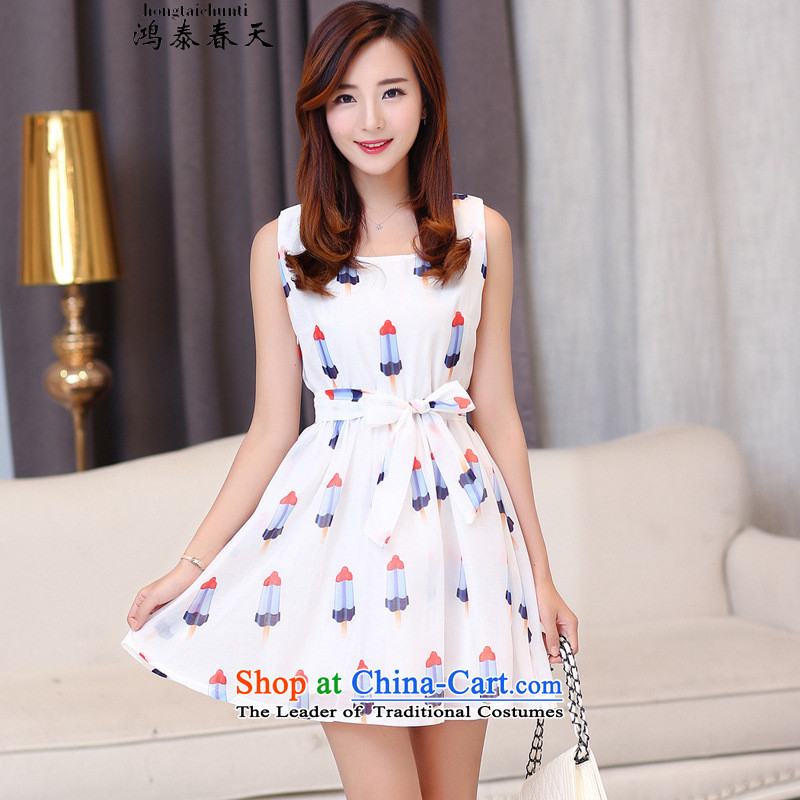 Hong Tai spring� d bon bon skirt the yarn dresses students in thin skirts stamp graphics and 425310445 Sau San�S Suit