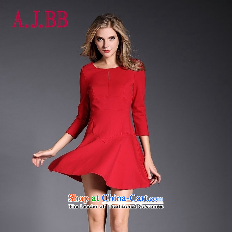 Vpro only 2015 New Red Dress marriage bows dress�7 cuff crowsfoot back to door service large Sau San Code Red 3,083�M