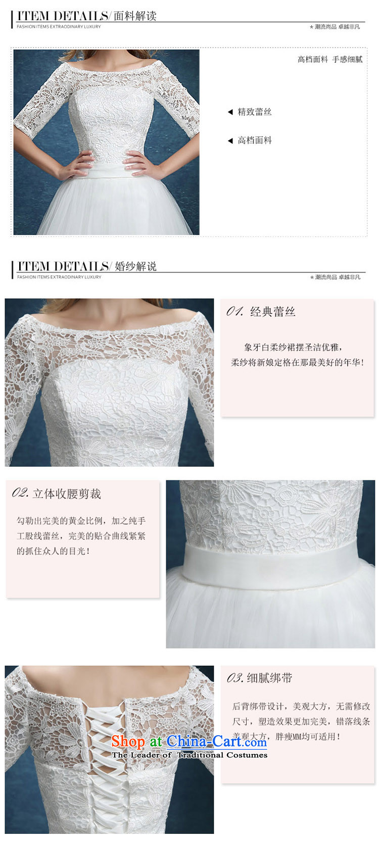 Bridesmaid Services 2015 new lace booking wedding-dress married women serving short of bows banquet dinner dress white summer white S picture, prices, brand platters! The elections are supplied in the national character of distribution, so action, buy now enjoy more preferential! As soon as possible.