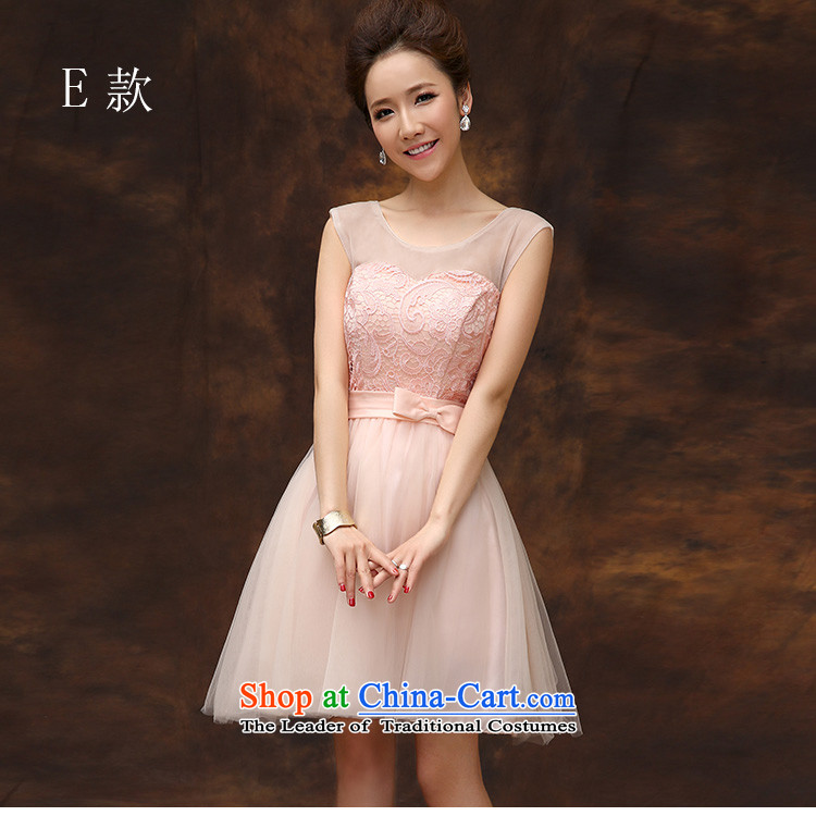 According to Lin Sha summer evening dress short, 2015 new bride pink drink service provides the wedding-dress marriage bridesmaid to serve small dress skirt D M picture, prices, brand platters! The elections are supplied in the national character of distribution, so action, buy now enjoy more preferential! As soon as possible.