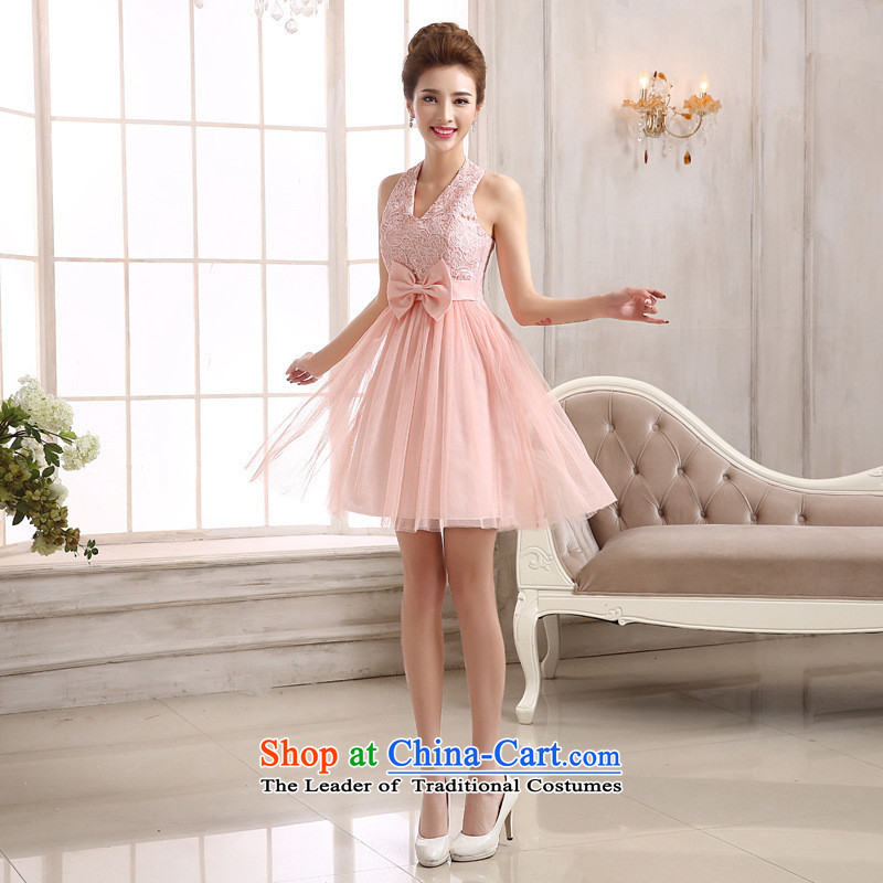 Mano-hwan's bridesmaid services video thin short_ bows dinner dress stylish anointed chest moderator performances dress champagne color are code