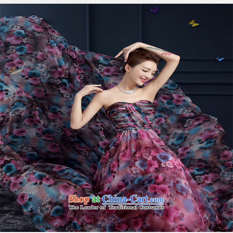 ?  ?The spring and summer of 2015, stylish HUNNZ simple drag-and-tail, wipe the Chest Sau San bridal dresses picture color?S Banquet