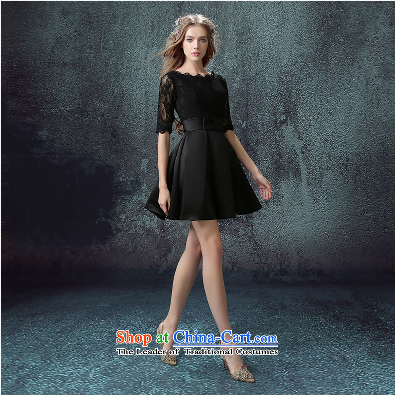 The first white into about video thin black lace in long-sleeved Dinner Performances short of annual wedding dresses 2015 new small black�S