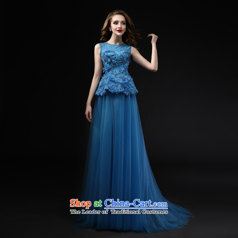 Mr model wedding advanced customization?2015 new bride wedding dress evening dresses Top Loin of thin lace toasting champagne Video Services web service bridesmaid dress?code M
