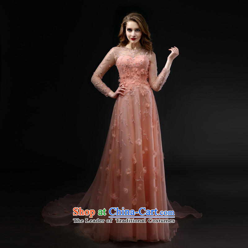 Mr Model Wedding�2015 advanced new tailored dress marriages evening dresses bows bridesmaid services services pink drift-dress tailoring�35-day delivery