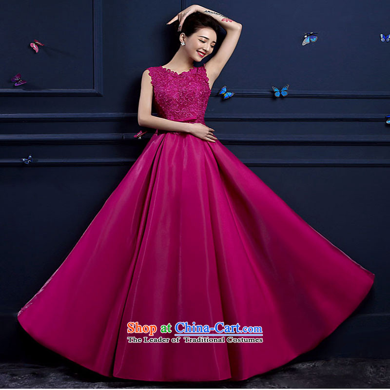 Love Su-lan luxury wedding dresses 2015 Spring Bridal Services dress bows long long gown of photography red XXL