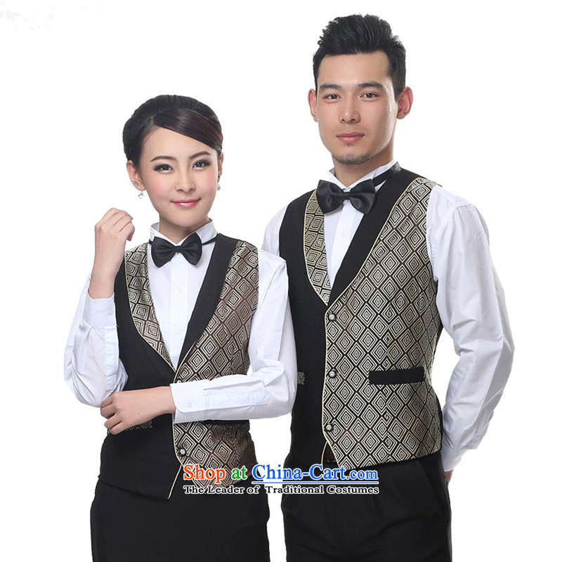 The Chelsea restaurant staff-hwan, a�KARAOKE staff working dress, a hotel Workwear Fall/Winter Collections gray�XXL