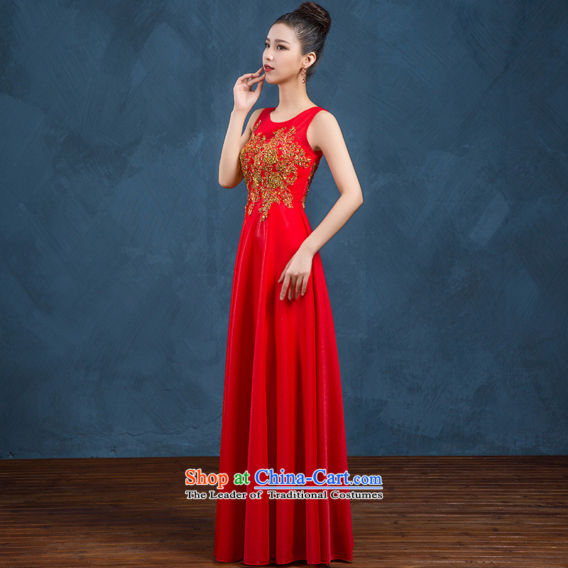 High-end custom 2015 new wedding dresses bride bows service long skirt larger moderator evening dresses long red made no refund is not shifting