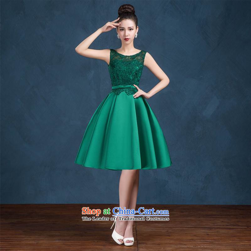 High-end custom 2015 new wedding dresses larger bride bows service of pregnant women chairpersons evening dress green�XL