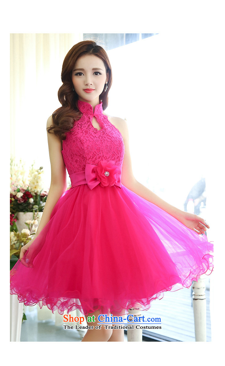 All聽New 2015 Autumn Ting mount must also shoulder straps, leakage princess bon bon short skirts bridesmaid marriage solemnisation evening dresses lace the yarn stitching dress dresses in red聽S pictures of the girl, prices, brand platters! The elections are supplied in the national character of distribution, so action, buy now enjoy more preferential! As soon as possible.