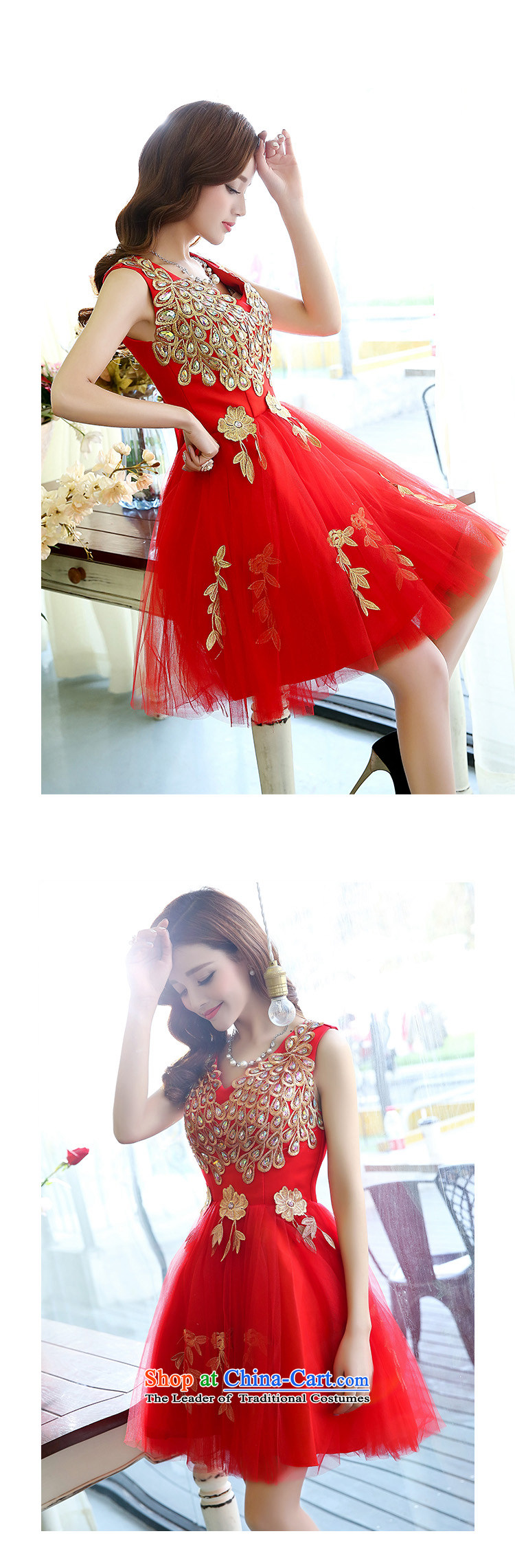 Known Good聽2015 new bride bridesmaid dress straps, princess bon bon short skirts bridesmaid marriage solemnisation evening dresses stereo peacock pattern dress dresses female purple聽M picture, prices, brand platters! The elections are supplied in the national character of distribution, so action, buy now enjoy more preferential! As soon as possible.