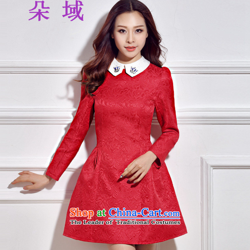 Load the autumn 2015 domain and the new bride diamond dress dresses G612C5983 RED�S