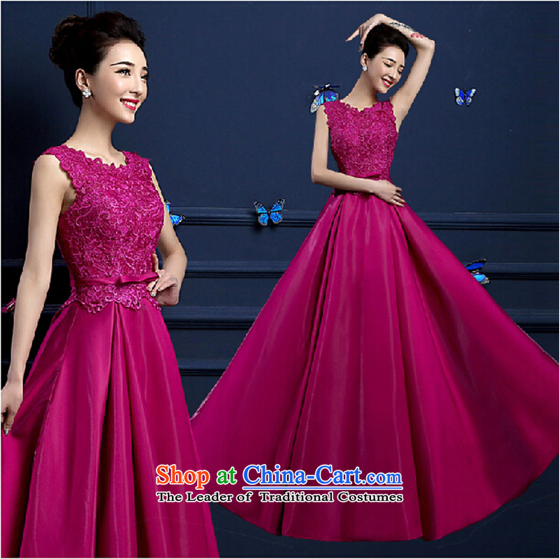 Pure Love bamboo yarn 2015 new red bride wedding dress long evening dresses evening drink service red shoulders a made-to Sau San dress other color contact customer service tailored please contact Customer Service
