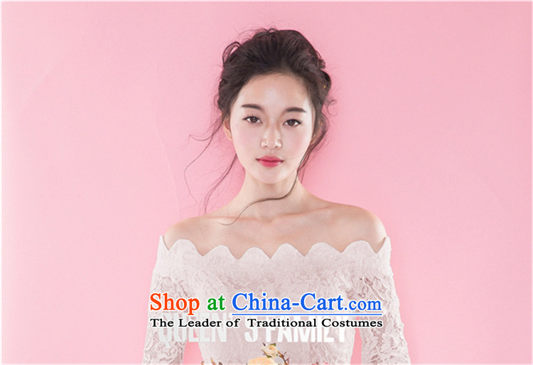 Hsbc Holdings plc Ming Chu New Europe and the 2015 big aristocratic temperament dress lace for long-sleeved crowsfoot dresses white S picture, prices, brand platters! The elections are supplied in the national character of distribution, so action, buy now enjoy more preferential! As soon as possible.