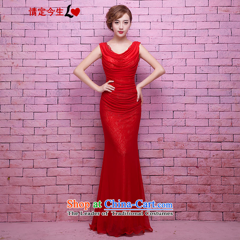 Love of the life of the new 2015 red collar on piles of chip beads video thin integrated nails with long gown marriages toasting champagne crowsfoot services tailor-made exclusively concept red message size