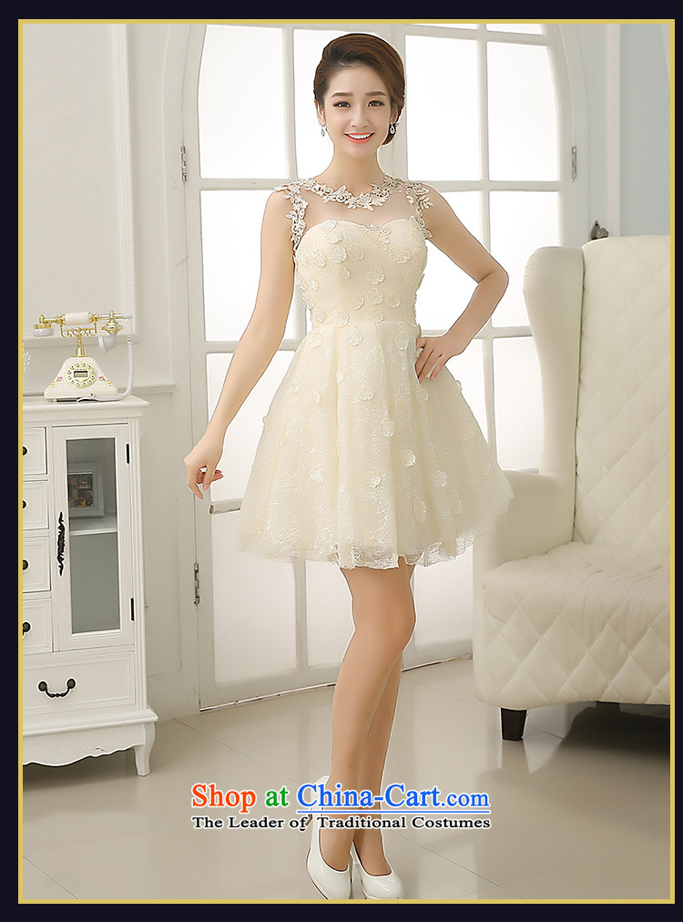 Rain-sang Yi marriages 2015 new short, Wedding Dress Circle sleeveless sexy and meat dresses bridesmaid small dress LF196 RED XL Photo, prices, brand platters! The elections are supplied in the national character of distribution, so action, buy now enjoy more preferential! As soon as possible.