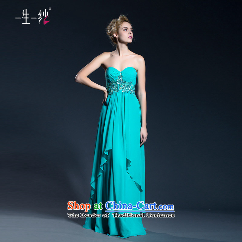 A lifetime of 2015 New services fall bride stylish bows banquet moderator anointed chest dress code Top Loin 402401387 large green�155/82A 30 days pre-sale