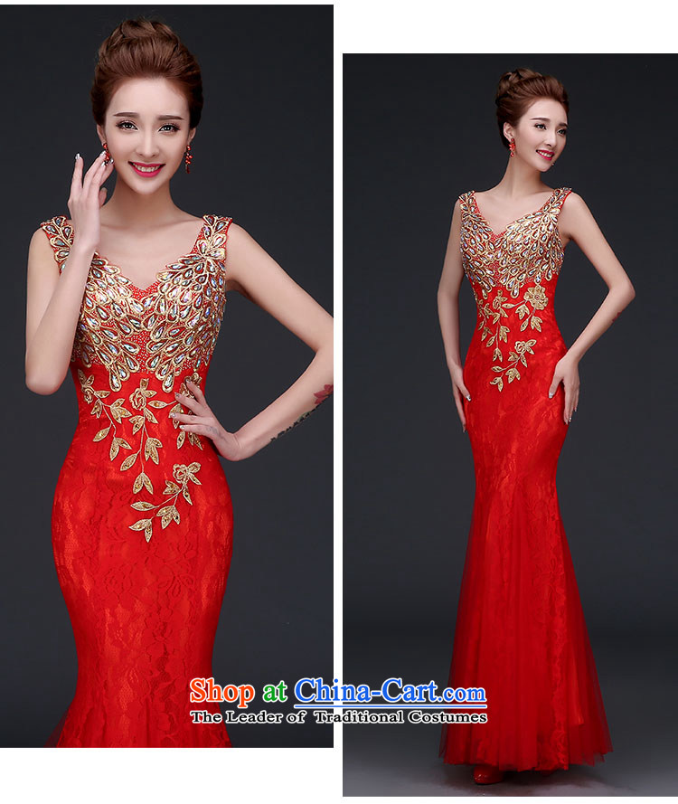 2015 new bride bows services fall wedding dress the betrothal of girls Red Dress Sau San crowsfoot banquet wedding dresses Sau San bridesmaid female red XXL picture, prices, brand platters! The elections are supplied in the national character of distribution, so action, buy now enjoy more preferential! As soon as possible.