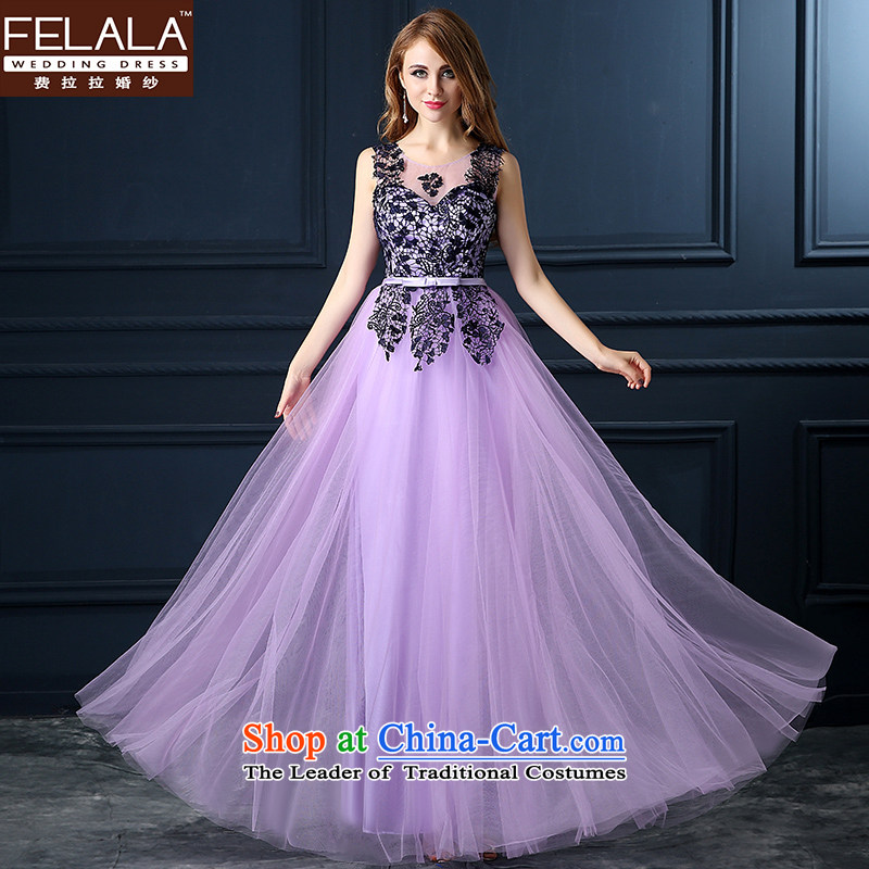Ms. Ferrara evening dresses 2015 new wedding dress autumn long bridesmaid service long gown skirt?L