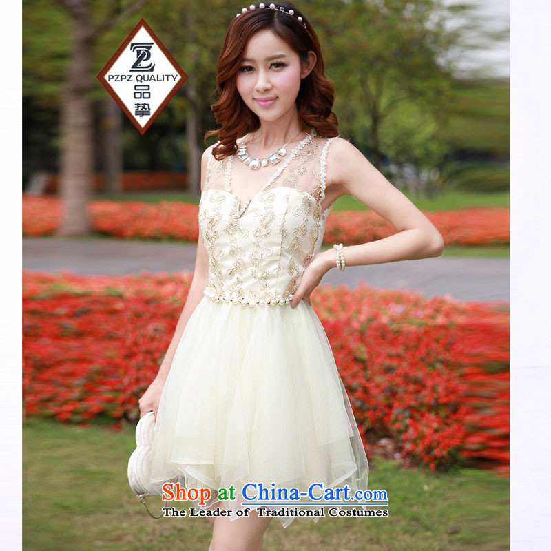 No. of 2015 does not rule stitching manually customised on population bon bon princess dresses bridesmaid sister small dress apricot are code