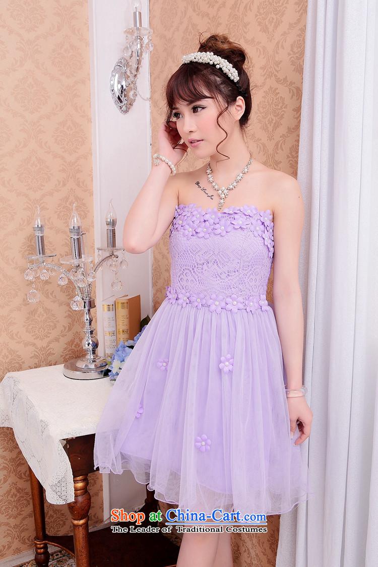 Andro ya 2015 bridesmaid Dress Short, lace small dress sister white ...